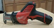 Milwaukee 2420-20 12v Hackzall Reciprocating Saw Pre-owned Free Shipping
