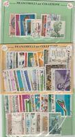 ITALIA - 3 ANNATE COMPLETE 1969-70-71, FINEMENTE TIMBRATI E PERFETTI, 61 VALORI