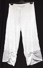 TS pants TAKING SHAPE plus sz S / 16 Monaco Culottes wide leg lace NWT rrp$110!
