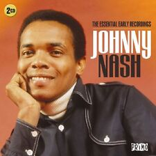 Johnny Nash ESSENTIAL EARLY RECORDINGS Best Of 40 Songs COLLECTION New 2 CD