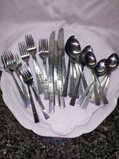 Oxford Hall OXH3 Japan Stainless Flatware Set of 29 Pieces Vintage Svc for Six