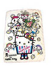 Hello Kitty X Tokidoki Popcorn And Sandy Fleece Blanket