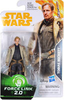 "Star Wars: Force Link 2.0 ~ 3 3/4"" TOBIAS BECKETT ACTION FIGURE ~ Hasbro"