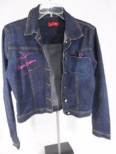 Apple Bottoms Women/Youth Crop Denim Jean Jacket - Size M - VGC
