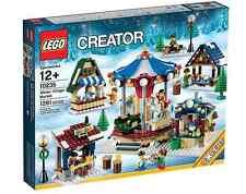 LEGO ® Creator 10235 Orsay marché Nouveau _ Hiver Village Market NEW En parfait état, dans sa boîte scellée Boîte d'origine jamais ouverte