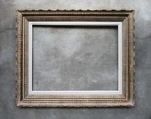 Ancien beau cadre style Montparnasse dimensions de la feuillure : 56,6 x 43,4 cm
