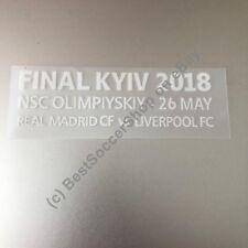 2018 Champions League Final - Match Details Badge - Liverpool