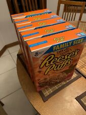 Travis Scott X Reeses Puffs Cereal Limited Edition Family Size 5 pack