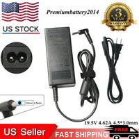 90W AC Adapter Battery Charger for HP Envy 15-k 17-j 710413-001 710414-001 US