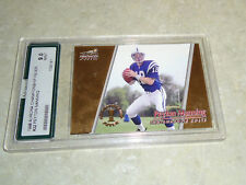 1998 Peyton Manning RC Aurora Championship Fever Graded AGS 9 Mint Broncos Colts