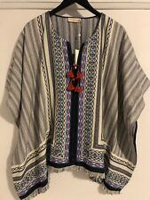 Tory Burch Brand New With Tag  Blair Poncho size M/L