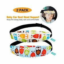 2 Packs Toddler Car Seat Neck Relief and Head Support, Pillow Support Head Ba.