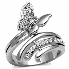 Unbranded Cubic Zirconia Statement Oval Costume Rings