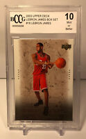 2003 Upper Deck Lebron James Box Set RC #16 BCCG 10 Mint Graded