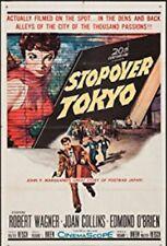 "16mm Feature ""STOPOVER TOKYO""(1957) Robert Wagner Joan Collins Edmond O'Brien"