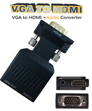 1080P VGA to HDMI Video Converter Adapter for PC Computer to HDMI HD TV Monitor