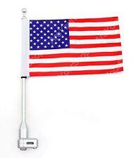 Moto Arrière verticaux mât drapeau américain Pour Honda GoldWing GL1800 01-2012