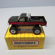 MATCHBOX Superfast65G Ford F150 Pick-Up Black / Red Stripe