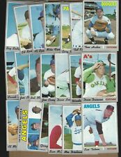 ( 20 )  1970  TOPPS  STARS  HIGH  NUMBERS