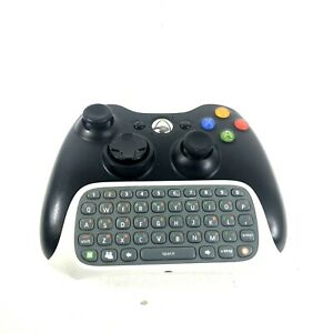 Xbox 360 Controller With Keypad Black