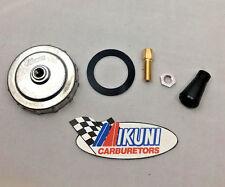 Genuine Mikuni Carburetor Cap with Cable Adjuster Kit - Fits VM30, VM32, VM34