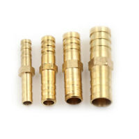 Pip 5Pcs Straight Hose Joiner Barbed Connector Air Fuel Water Pipe Gas Tubing HG