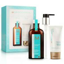 MOROCCANOIL Set Treatment Oil Light 4.2oz / 125ml + Hand Cream 2.5oz / 75ml