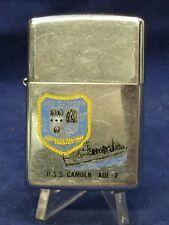 1992 ZIPPO LIGHTER U.S.S. CAMDEN AOE - 2
