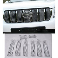 For Toyota Prado FJ150 2010~2013 Honeycomb Front Grille Grill Mesh Covers Trim