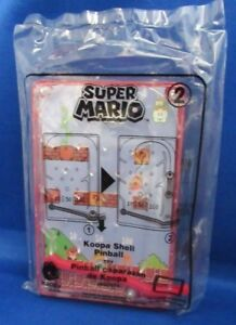 MCDONALD'S 2018 HAPPY MEAL SUPER MARIO COLLECTOR'S  #2 KOOPA SHELL PINBALL GAME