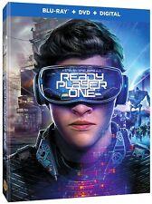 READY PLAYER ONE  (Blu-ray/DVD, 2018, Digital HD Copy)