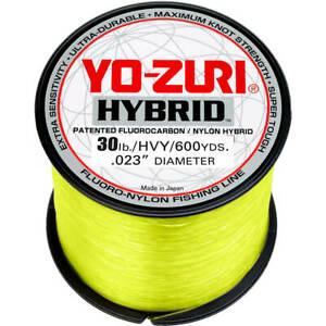 Yo-Zuri Hybrid Fishing Line HVY  600yds Fluoro-Nylon Fishing Line