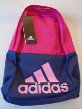 Adidas MINI Versatile Backpack Blue/Pink School Gym College Sports Kids Bag NEW