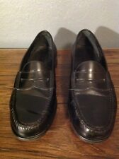 Cole Haan black strap penny loafers US Mens sz. 10.5 M