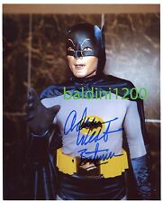 ADAM WEST - BATMAN SIGNED 10X8 PHOTO, GREAT STUDIO IMAGE, LOOKS GREAT FRAMED