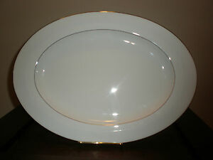 "RALPH LAUREN NORMANDY 15"" OVAL PLATTER NEW WITH TAG NO BOX"