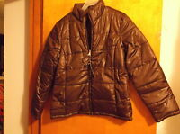 "BRAND NEW LADY'S ""FADED GLORY"" BROWN WINTER REVERSABLE JACKET,,SZ..SMALL"