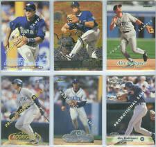 ALEX RODRIGUEZ ~ Lot of (6) Rare Promotional Sample Cards ~ Rare!