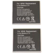 2 Akkus für Fuji NP-40 NP40 F810 F470 F460 F402 Z1 NEU