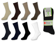 4, 8 Or 12 Pair Socks without Elastic - 100% Cotton - Medical Socks - 39-50