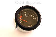 12v Oil Pressure Gauge 0 to 5 Bar 10-180 ohm