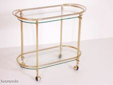 Maxwell Phillip Mid Century Carrello Bar Cart 50s BrassTea Trolley MA L37
