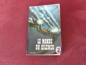 Le Monde du silence - Cousteau - Frederic Dumas - Livre de poche - 1964