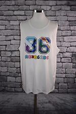 Puma Dee And Ricky Tank Top Jersey NYC Retro Renegade White 2XL NWT MSRP $65.00