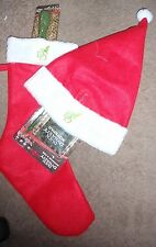 A&E DUCK DYNASTY CHRISTMAS STOCKING & HAT WITH FLASHLIGHT & NOTEPAD & PEN SET