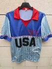 VINTAGE Maillot DALLAS USA année 80 NASL shirt football soccer trikot jersey S M