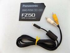 Panasonic DMC-FZ50 Kabel 2x RCA RGB / micro HDMI (Cinch auf HDMI) NEU unbenutzt