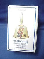 Antique 1983 Sixth Edition Goebel Hummel BELL NIB (new in box) HUM 705