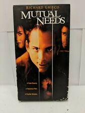 Mutual Needs (VHS, 1997, RARE)