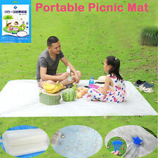 BBQ Outdoor Reusable Camping Blanket Portable Picnic Ground Mat Water Resistant